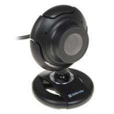 Веб-камера Defender C-2525HD 2MP, 1600x1200, микрофон, USB 2.0, черный