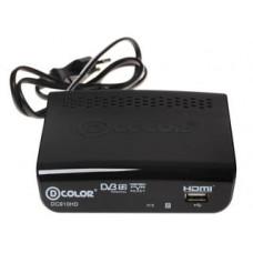 Цифровой ресивер D-Color DC910HD DVB-T2 черный