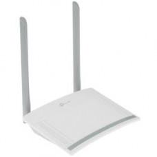 Маршрутизатор TP-LINK TL-WR820N, 802.11n, 2.4 ГГц, до 300 Мбит/с, LAN 2x100 Мбит/с, WAN 1x100 Мбит/с, внешних антенн: 2x5dBi