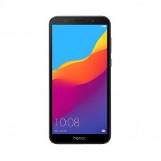 "Смартфон Honor 7A 5.45"", 1440x720 IPS, MediaTek MT6739, 2Gb RAM, 16Gb, 3G/LTE, WiFi, BT, 2x Cam, 2-Sim, 3020mAh, Android 8.0, черный"