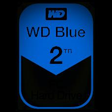 "Жесткий диск Western Digital 2Tb Blue, 3.5"", 5400rpm, 64Mb, SATA3 (WD20EZRZ)"