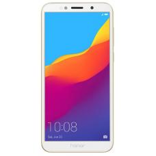 "Смартфон Honor 7A 5.45"", 1440x720 IPS, MediaTek MT6739, 2Gb RAM, 16Gb, 3G/LTE, WiFi, BT, 2x Cam, 2-Sim, 3020mAh, Android 8.0, золотистый"
