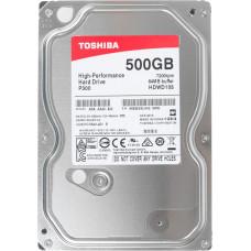 "Жесткий диск Toshiba 500Gb P300, 3.5"", 7200rpm, 64Mb, SATA3"