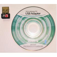 Адаптер Wi-Fi NoName USB 2.0, 802.11n, 2.4 ГГц, до 150 Мбит/с