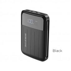 Портативный аккумулятор (PowerBank) BOROFONE BT21, 10000mAh, 2xUSB, 2A, черный