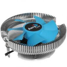 Кулер для процессора Aerocool Verkho A для Socket/AM4/AM2+/AM3/AM3+/FM1/FM2/FM2+/AM2, 90мм, 2300rpm, 28.9 дБ, 100W, 4-pin PWM, Al