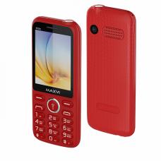 """Мобильный телефон Maxvi K15n 2.8"""", 320x240 TN, MediaTek MT6261D, 32.8Mb RAM, 32.8Mb, BT, 2-Sim, Cam 1.3, 1400mAh, красный"""