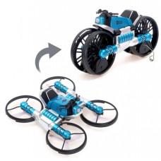 Квадрокоптер-трансформер 2в1, синий