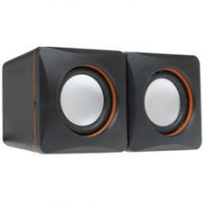 Акустика 2.0 Defender SPK 33, USB, черный/оранжевый