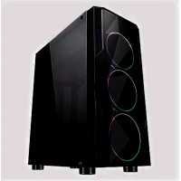 Системный блок Cifrovoy GameOn++ Intel i3 10100F / 16Gb DDR4 / SSD 480GB / NVIDIA GTX1650 - 4Gb DDR6 / 500W / RGB